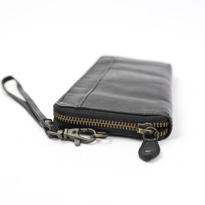 Ritsportemonnee 'Sofie' CL 15882 Zwart RFID