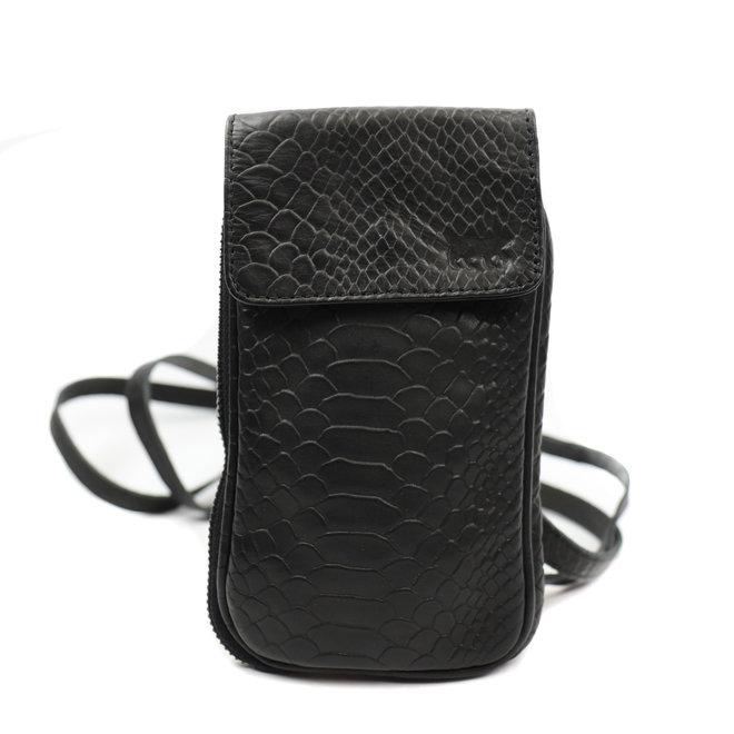 Telefoontasje 'Elske' - CP 2106 Zwart Croco