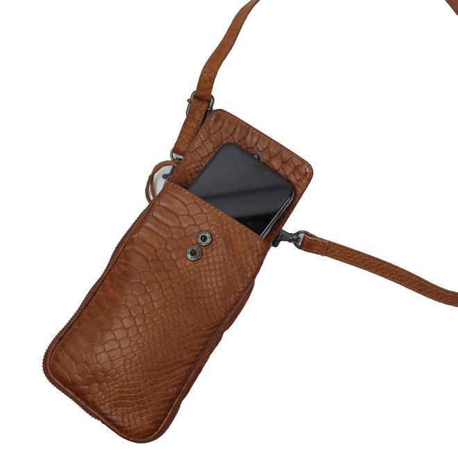 Telefoontasje 'Elske' - CP 2106 Cognac Croco