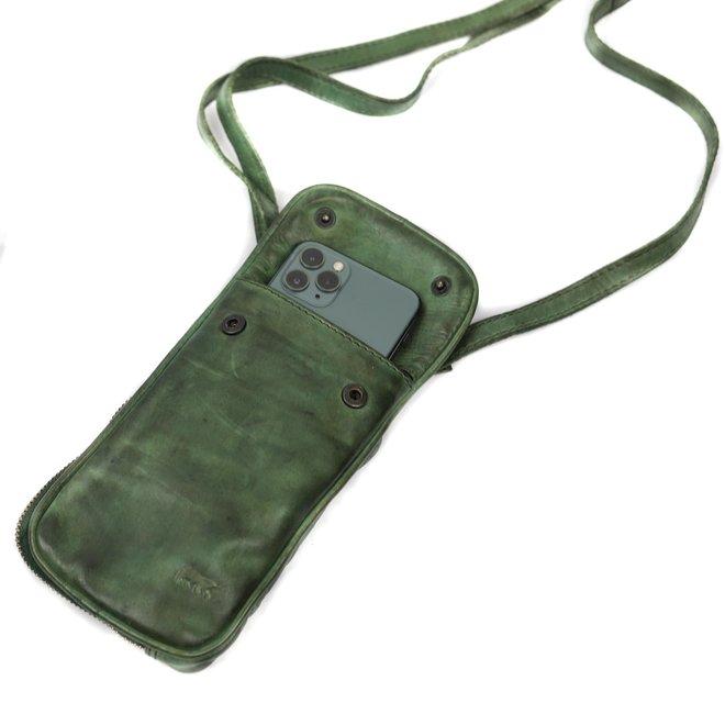 Telefoontasje 'Elske' - CL 41579 Groen