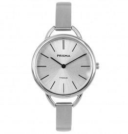 Prisma Prisma - Horloge - Simplicity Titanium Silver