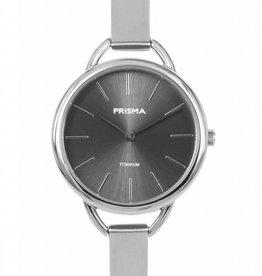 Prisma Prisma - Horloge - Simplicity Titanium Black