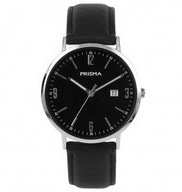 Prisma Prisma - Horloge - Slimline Mr. Blacksilver