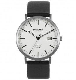 Prisma Prisma - Horloge - Slimline Titanium White