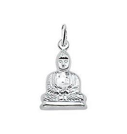 Zilveren bedel - Boedha