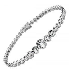 Diamonfire Diamonfire - Zilveren tennisarmband - Zirkonia - Alliance