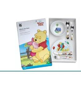 van Steyn Geboortecadeau - Stalen bestekset - kleur - 6 delig - Winnie the Pooh