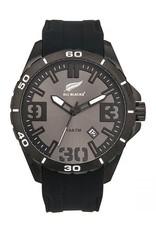 All Blacks All Blacks - Horloge - Staal - Silicone band