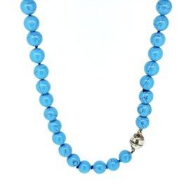 Renaissance Kralen collier - Turquoise