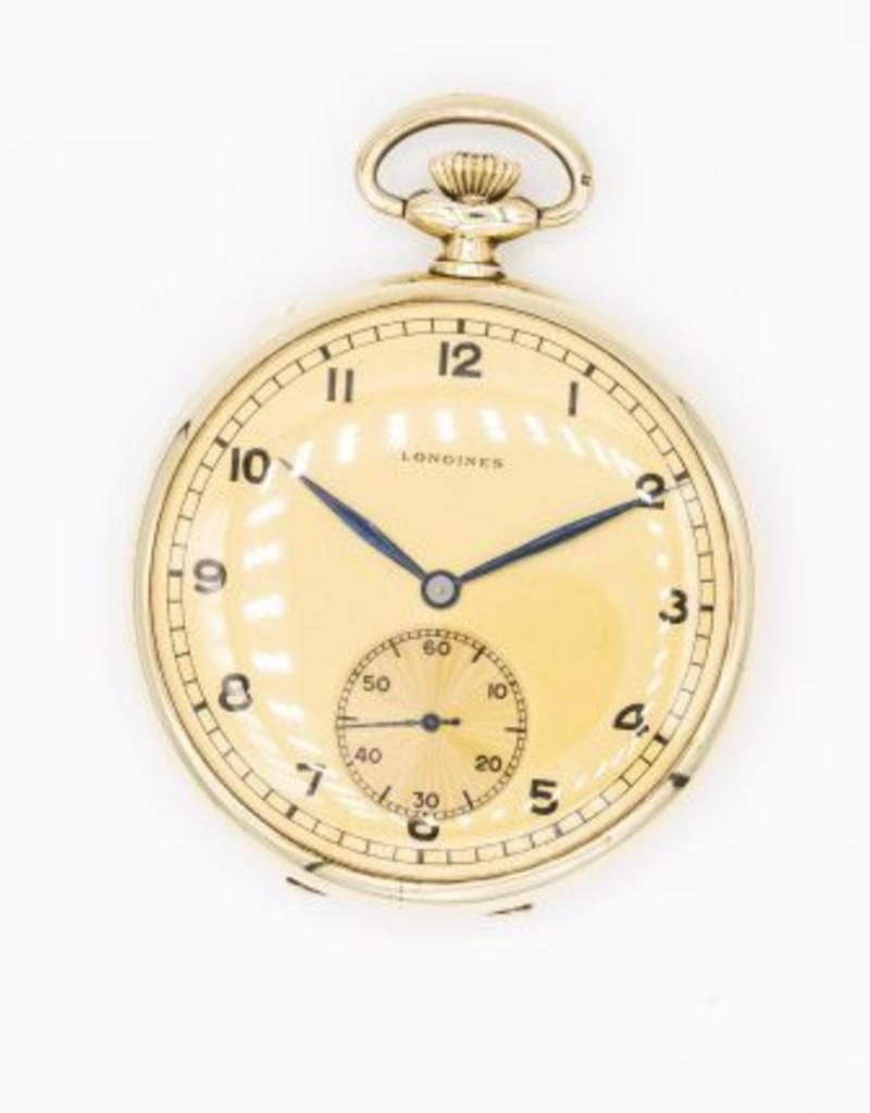Occasions by Marleen Occasions by Marleen - 14 karaats - Gouden vest zakhorloge - Longines