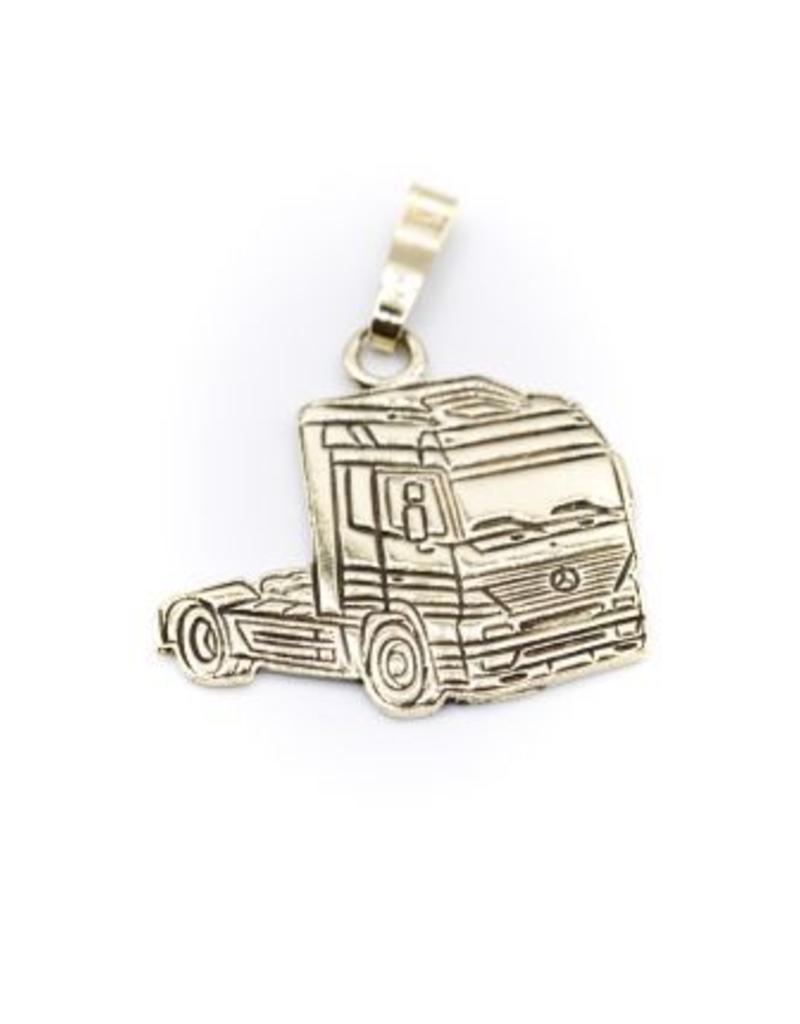 Occasions by Marleen Occasions by Marleen - 14 karaats - Gouden hanger - Truck