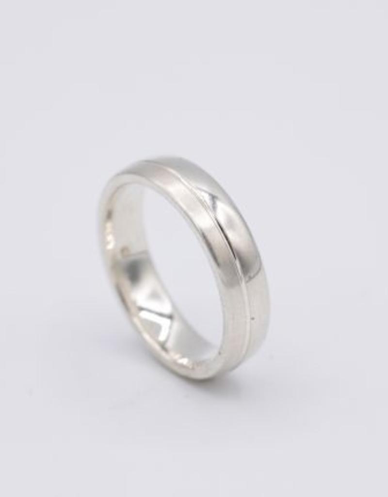 Titanium ring - Maat 17  ¾