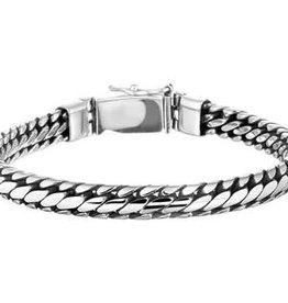 Zilveren armband - 20 cm - 6 mm