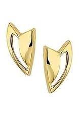 Gouden oorknoppen - 14 karaats