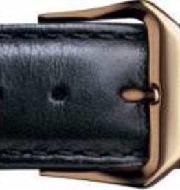 Condor horloge band - Leer - Zwart - 077R.01.xx