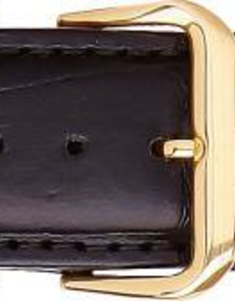 Condor horloge band - Leer - Zwart - 328R.01.xx
