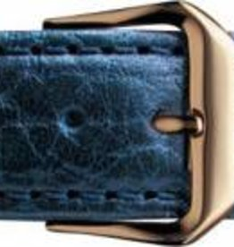 Condor Condor horloge band - Leer - Blauw - 051R.05.xx