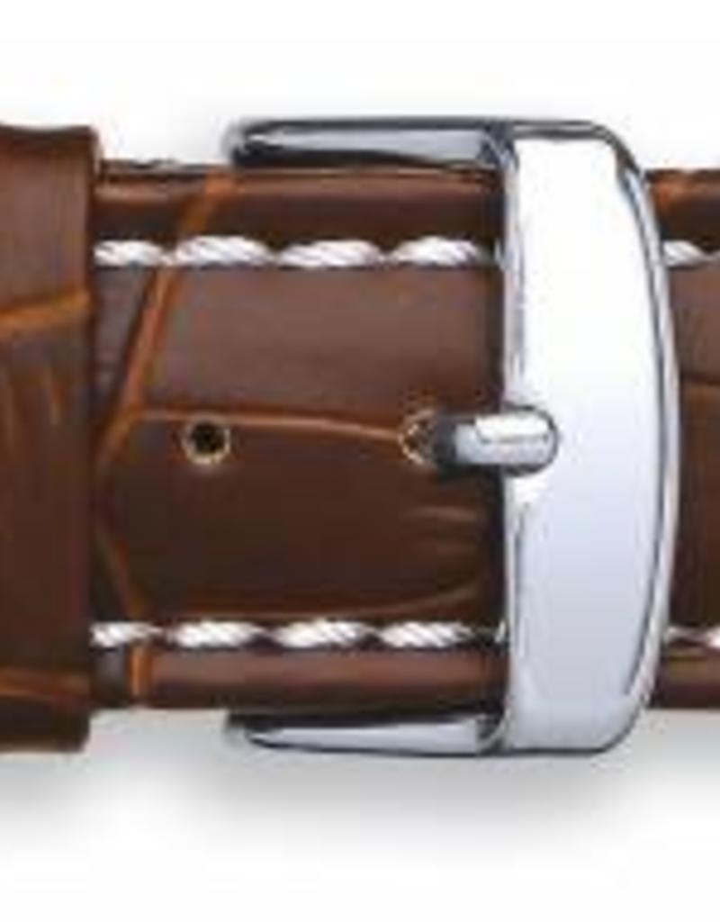 Condor horloge band - Leer - Bruin - 337R.02.xx