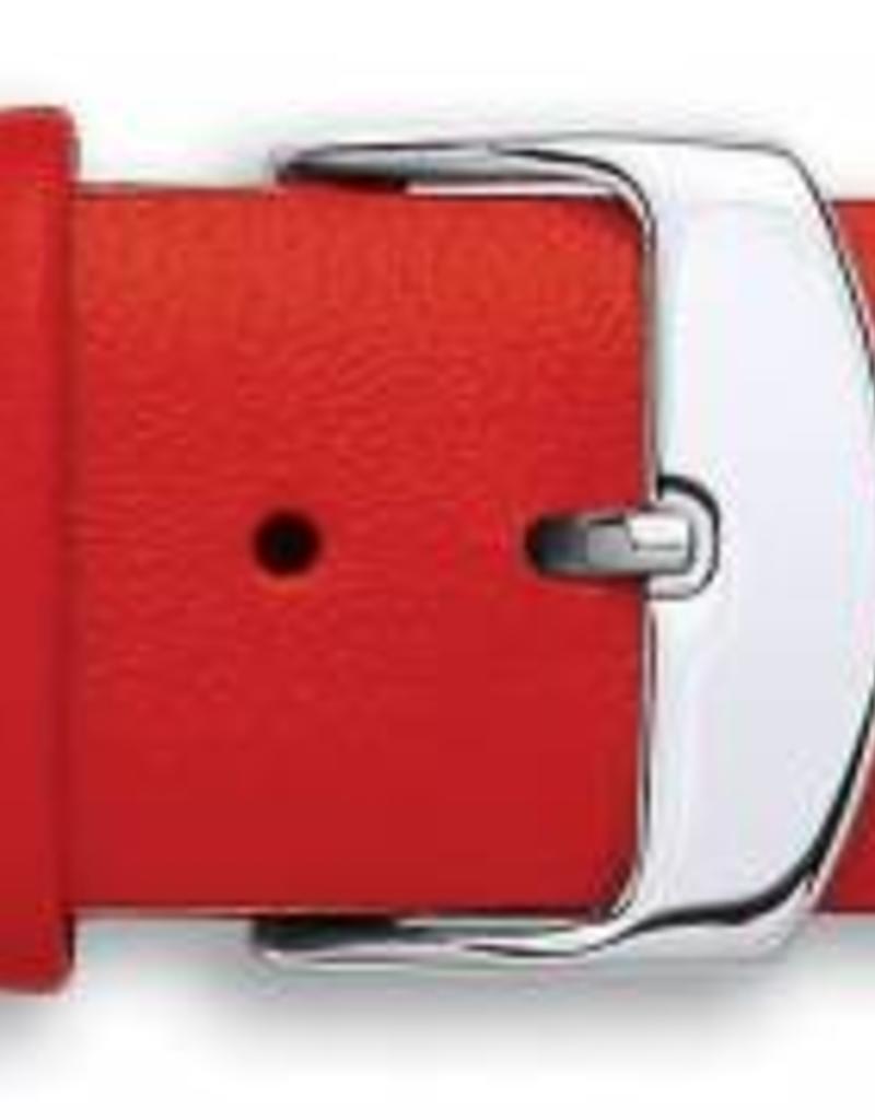Condor horloge band - Leer - Rood - 335R.06.xx