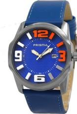 Prisma Prisma - Horloge - Blauw - 3D