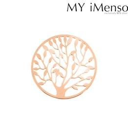 My Imenso - Zilver vergulde insignia - Boom - 24-0482