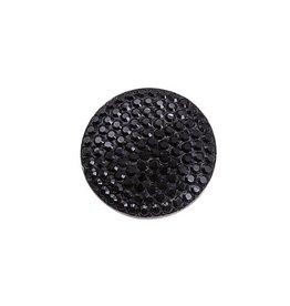 My Imenso - Zilver/zwart stenen insignia - 24-0599