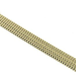 Fixoflex® Classic - Staal verguld- Rekband 18 mm - 22mm