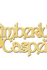 Gouden naamketting model Kimberly - Casper