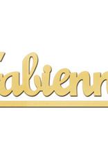 Gouden naamketting model Fabienne