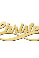 Gouden naamketting model Christel