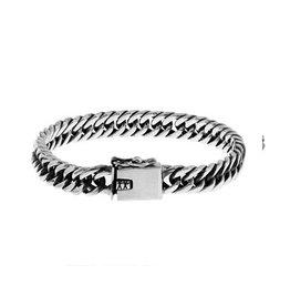 Zilveren armband - 18 cm - 8 mm