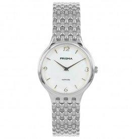 Prisma Prisma - Horloge - Grand Zilver