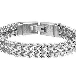 Stalen armband - 21.5 cm