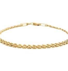 Kasius Gouden armband - 19 cm - 3 mm