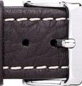 Condor horloge band - Leer - Zwart - 307R.01.xx