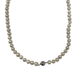 Renaissance Parel collier - Zoetwaterparel - 45 cm