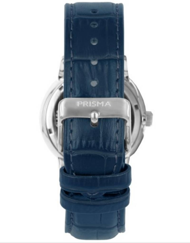 Prisma Prisma - Horloge - Zilver blauw