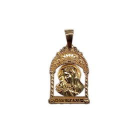 Occasions by Marleen Occasions by Marleen - Gouden hanger - Ave Maria