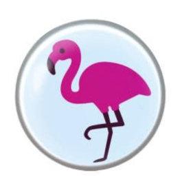 Studex Schietknopjes - Chirurgisch staal - Flamingo