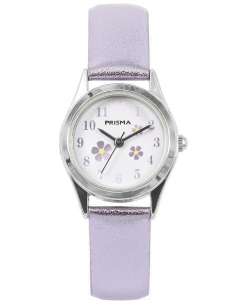 Prisma Prisma - Kinderhorloge - Little Flower Purple Metallic