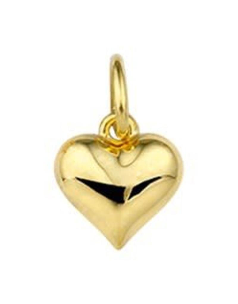 Gouden bedel - Hartje
