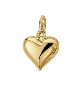 Gouden bedel - Hart
