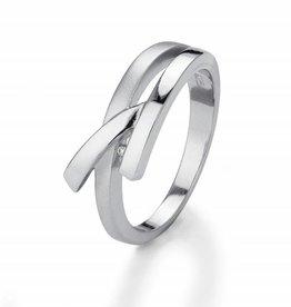 Yo Design Yo Design - Zilveren ring - Giraffe - Maat 17.5