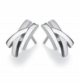 Yo Design Yo Design - Zilveren oorknoppen - Giraffe