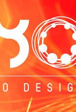 Yo Design Yo Design - Zilveren collier - Button