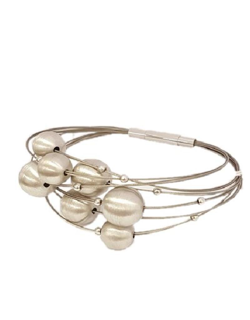 Yo Design Yo Design - Zilveren armband - Planet