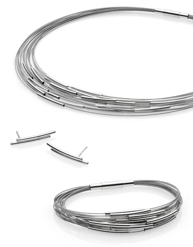 Yo Design Yo Design - Zilveren draadjecollier - Infinity