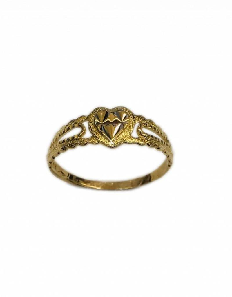 Occasions by Marleen Occasions by Marleen - Gouden ring -18 Karaats - Maat 18