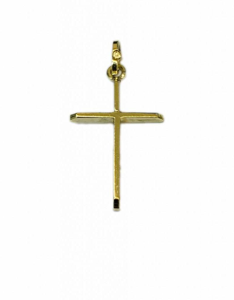 Occasions by Marleen Occaions by Marleen - Gouden hanger - Kruis