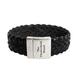 The Chesterfield Brand The Chesterfield Brand - 'Avatar' - Cow leather - Black - Size XL - Width 2 cm